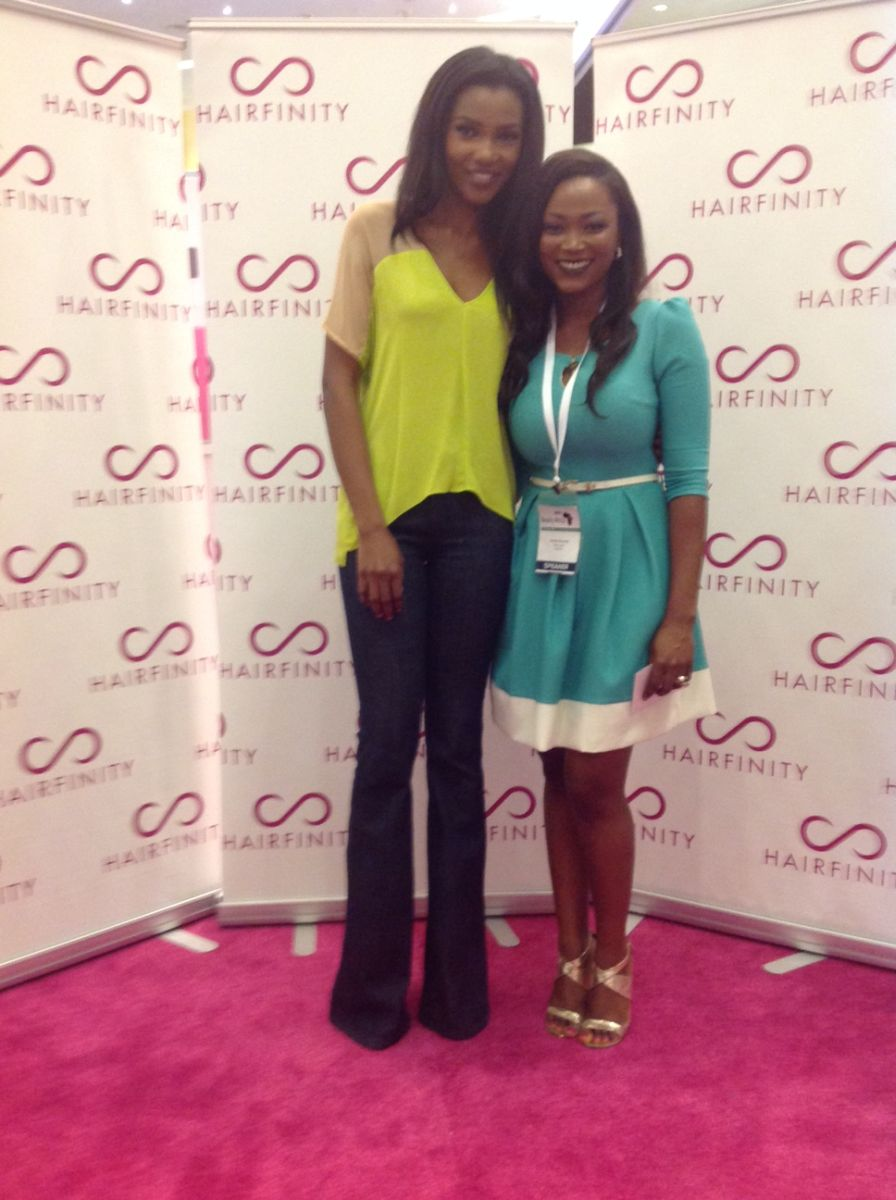 Jennifer Obiuwevbi od BellaNaija Beauty at the Beauty Africa Expo 2015 - Bellanaija - September004
