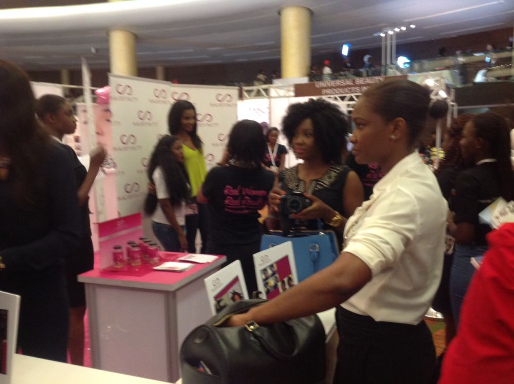 Jennifer Obiuwevbi od BellaNaija Beauty at the Beauty Africa Expo 2015 - Bellanaija - September005