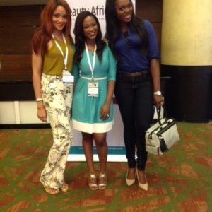 Jennifer Obiuwevbi od BellaNaija Beauty at the Beauty Africa Expo 2015 - Bellanaija - September007