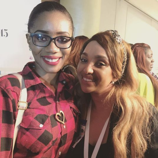Jennifer Obiuwevbi od BellaNaija Beauty at the Beauty Africa Expo 2015 - Bellanaija - September009