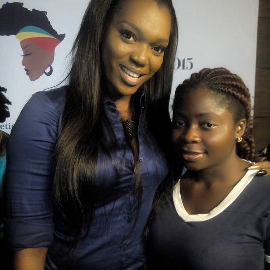 Jennifer Obiuwevbi od BellaNaija Beauty at the Beauty Africa Expo 2015 - Bellanaija - September014