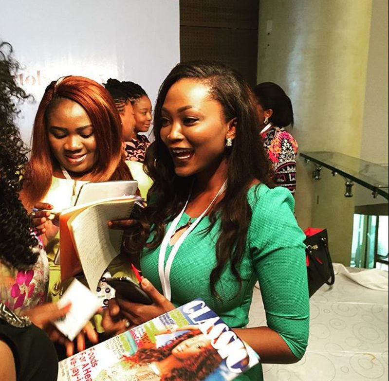 Jennifer Obiuwevbi od BellaNaija Beauty at the Beauty Africa Expo 2015 - Bellanaija - September019