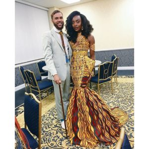 Jidenna and Jessica - All Things Ankara Ball 2015