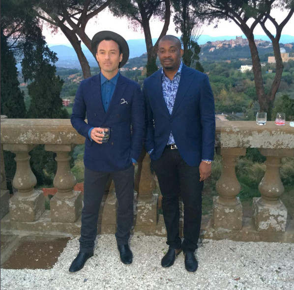 Jude Law & Don Jazzy