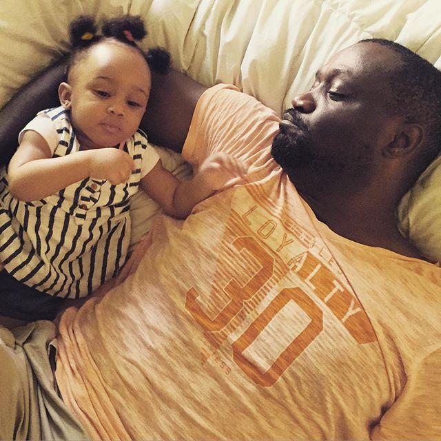 Jude Okoye with his Princess