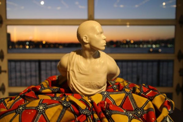 Kehinde Wiley silent auction item
