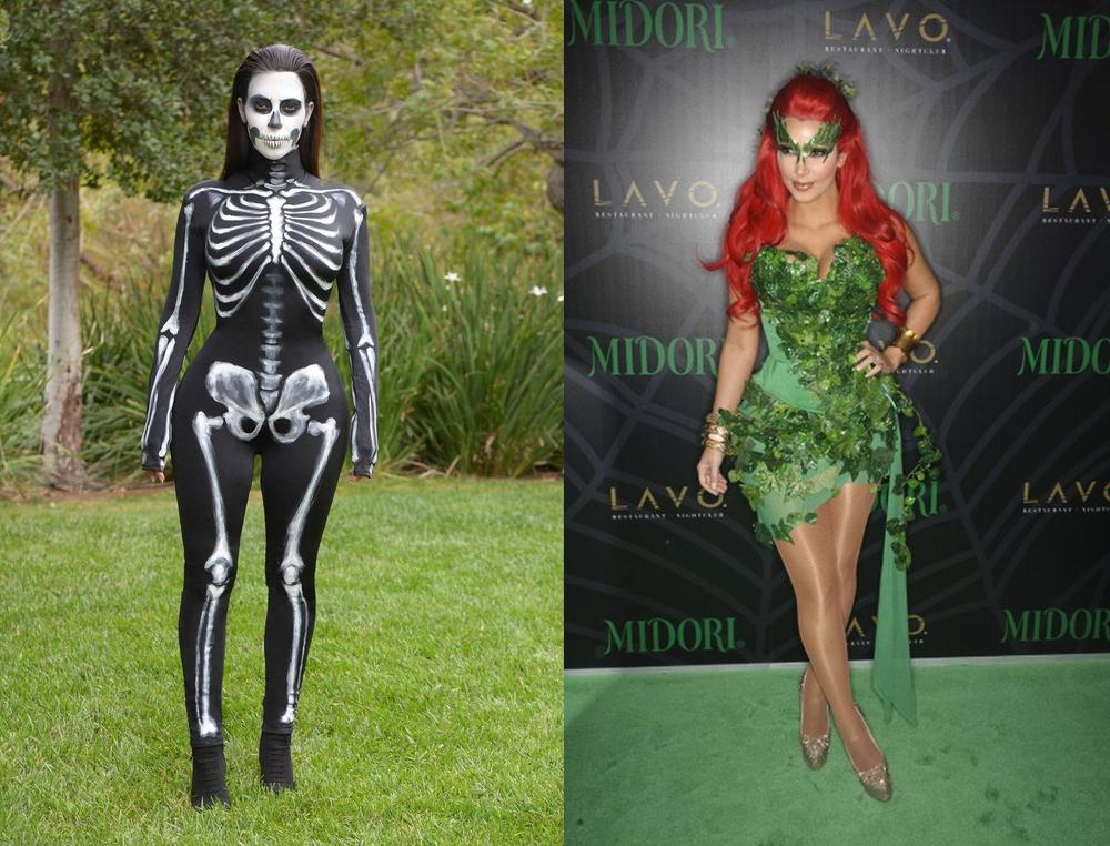 Halloween Countdown! 8 Costume Ideas you can TOTALLY Copy from Kim ...