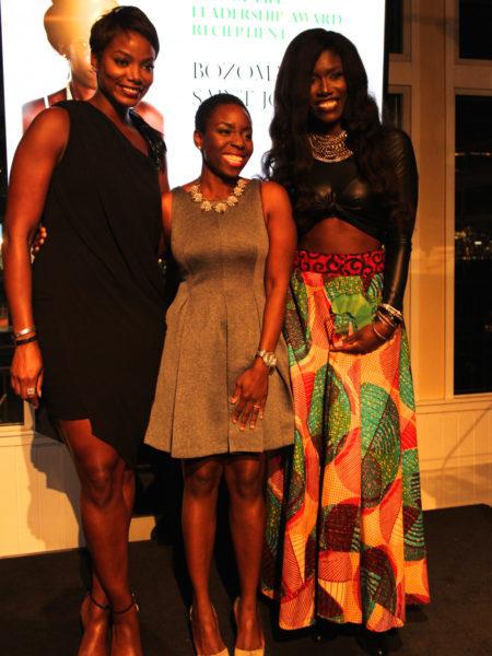 L-R Tai Beauchamp, Nana Eyeson-Akiwowo, Bozoma Saint John