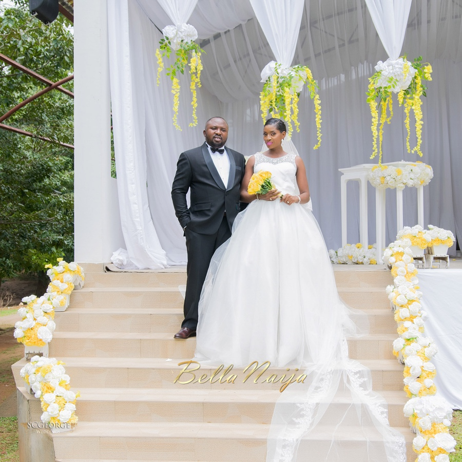 BN Wedding Decor: Liz & Friday\'s Lush Yellow Outdoor Wedding in ...