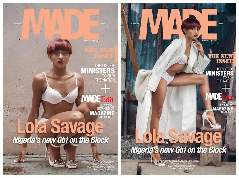 Lola Savage MADE Magazine BellaNaija