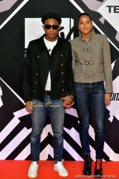 Pharell Williams & Helen Lasichanh