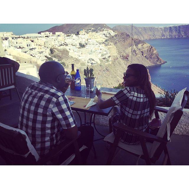 Marcy Dolapo Oni Sijuwade Santorini Honeymoon BellaNaija 11