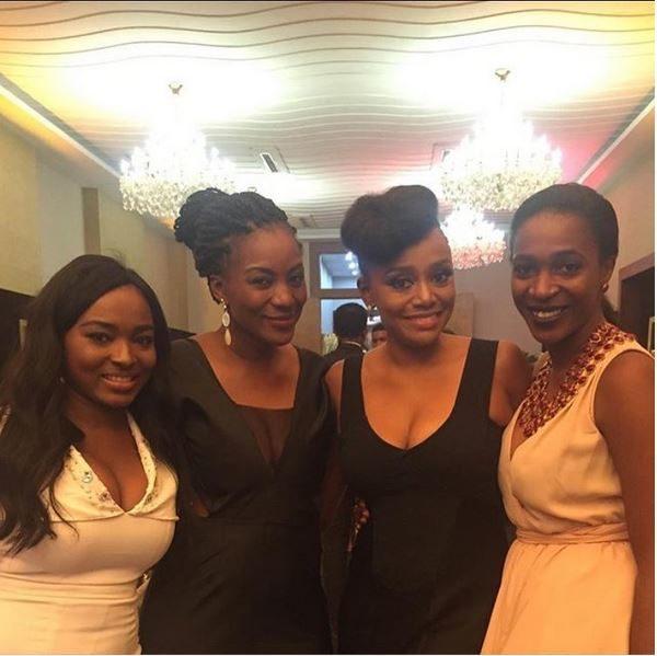 Meg Otanwa, Michelle Dede, Kiki Omeili & Hauwa Mukan