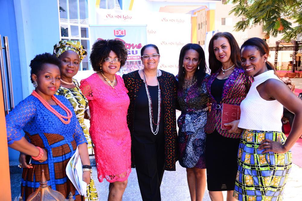 Mrs.Okolo, Mrs. Obiago, Prof. Osili, Dr. Nwandu, Mrs. Nwobodo