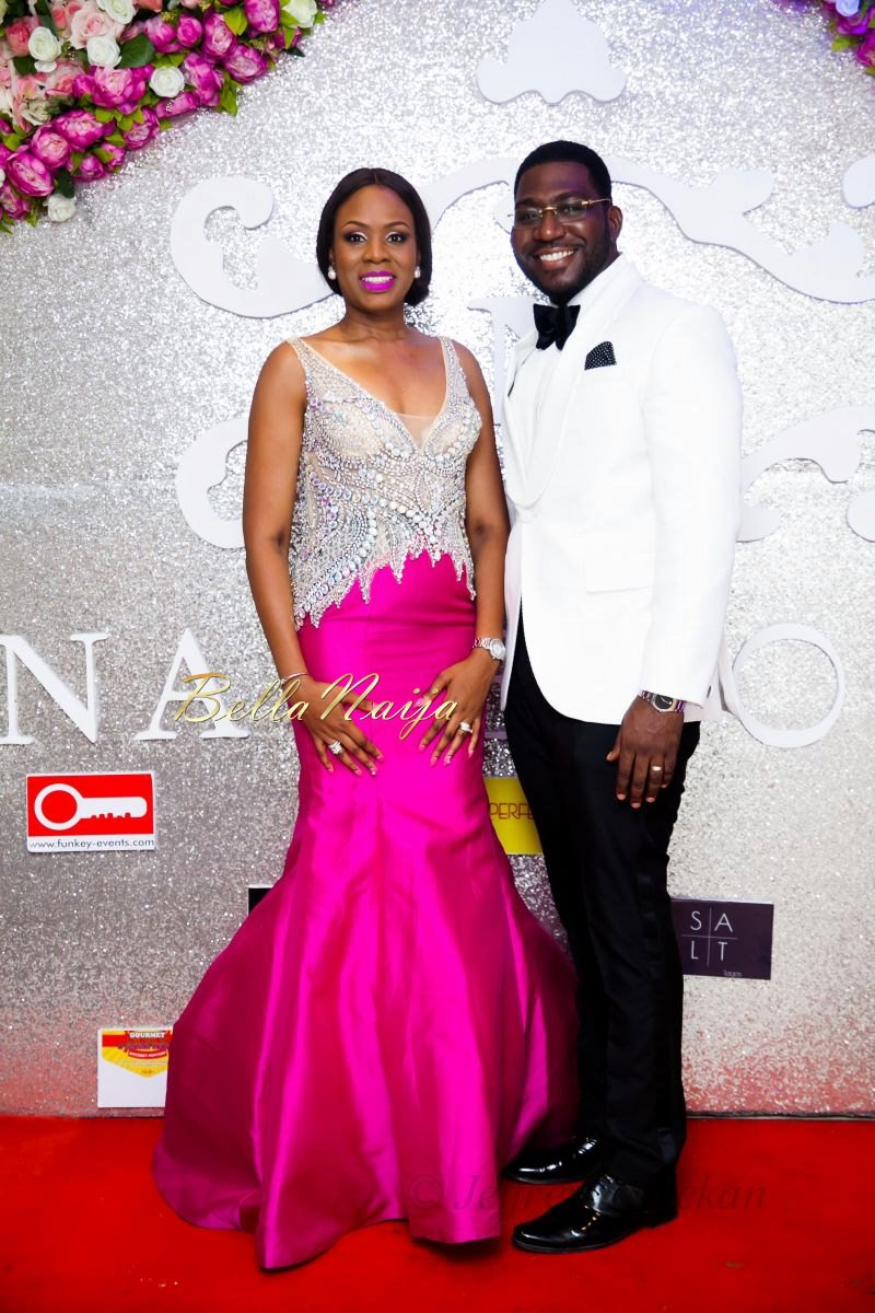 Wunmi with husband Deji Williams