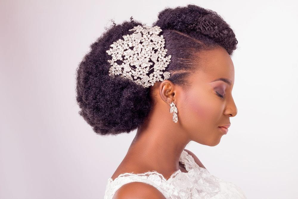 Natural Hair Bridal Inspiration - Yes I Do - BellaNaija Weddings 2015 0010