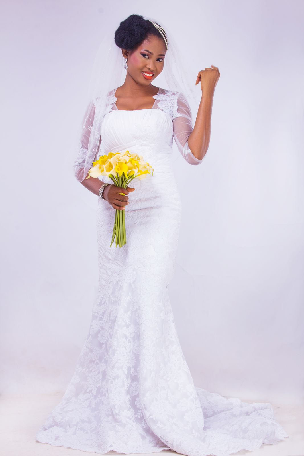 Natural Hair Bridal Inspiration - Yes I Do - BellaNaija Weddings 2015 0014