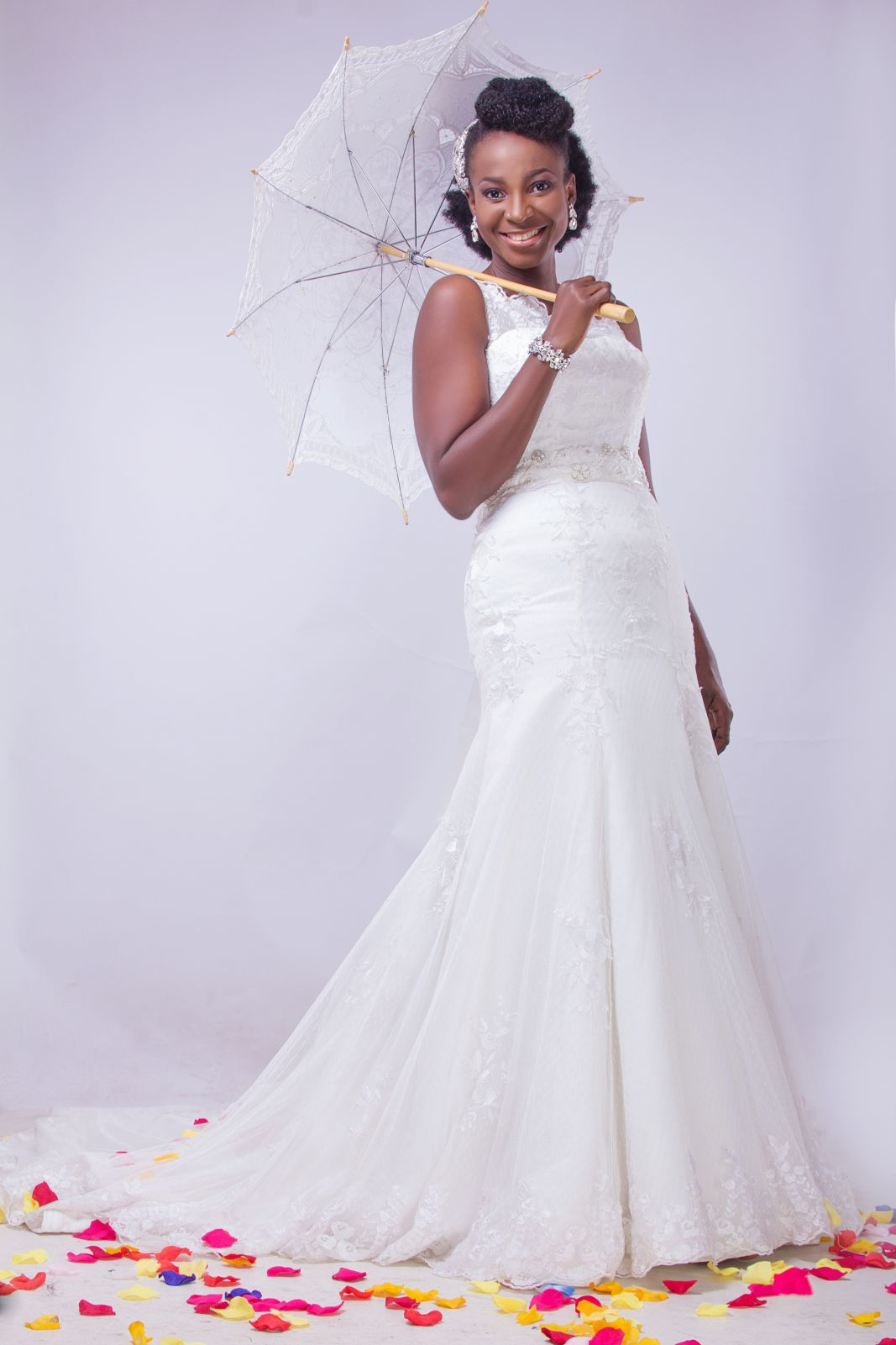 Natural Hair Bridal Inspiration Shoot by Yes! I Do Bridal - BellaNaija
