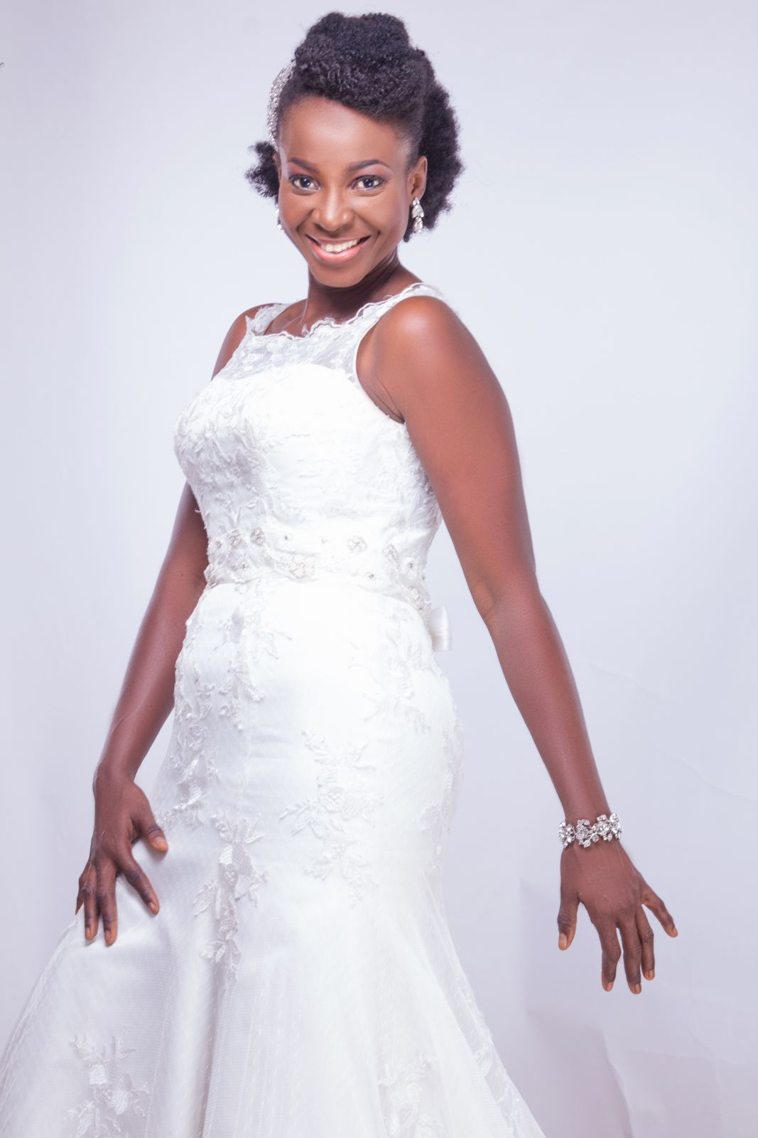 Natural Hair Bridal Inspiration - Yes I Do - BellaNaija Weddings 2015 007