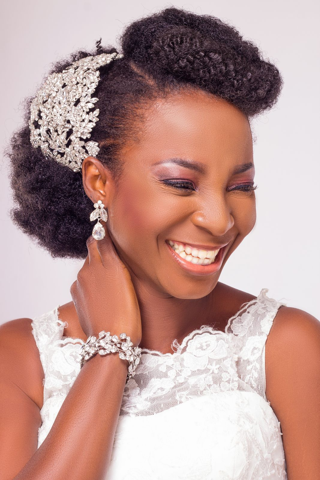 Natural Hair Bridal Inspiration Shoot by Yes! I Do Bridal ...