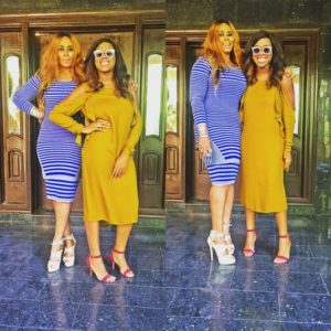 Nkiru & Zina Anumudu - BellaNaija - October 2015