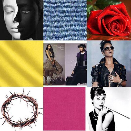 Nuraniya Studios Mood Board for LFDW Collection Showcase - BellaNaija - October 2015