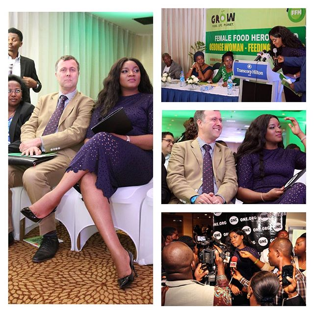 Omotola World Food Day 2015 Oxfam BN 2