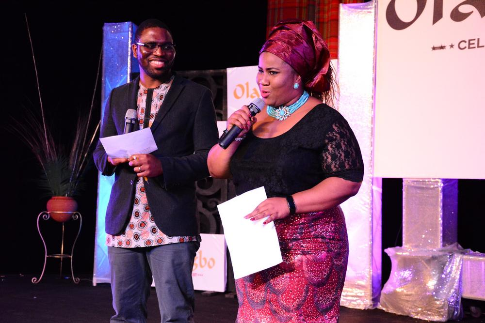 MCs Chigul and Nkem Ifejika of BBC