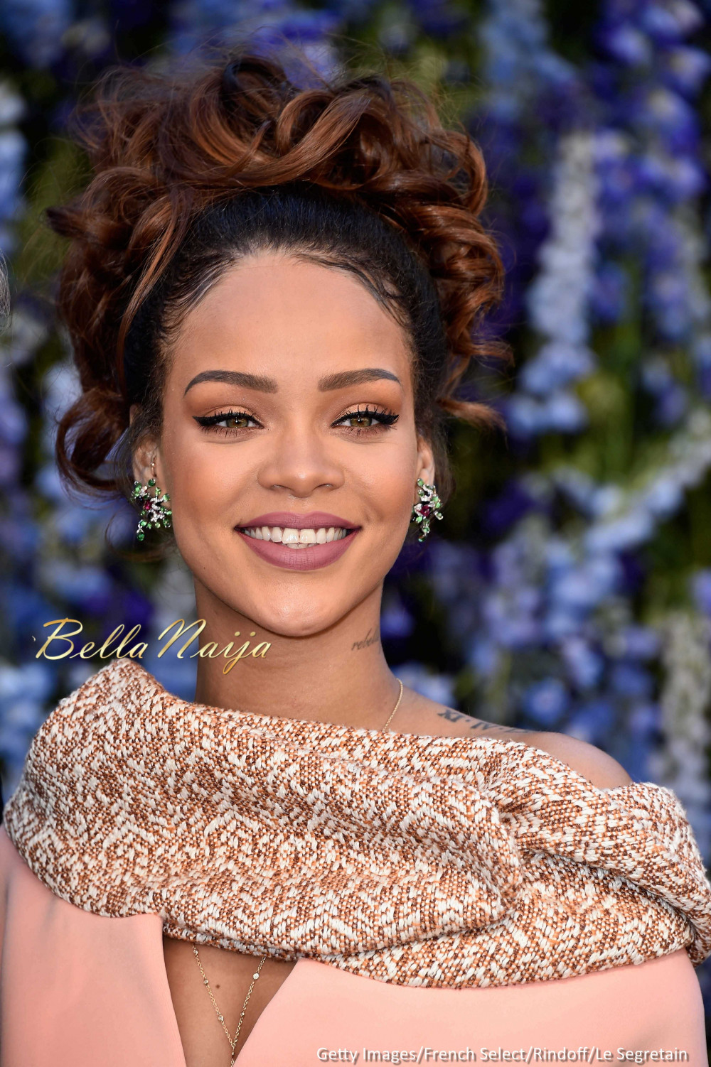 Chris Brown Rihanna Fashion Show