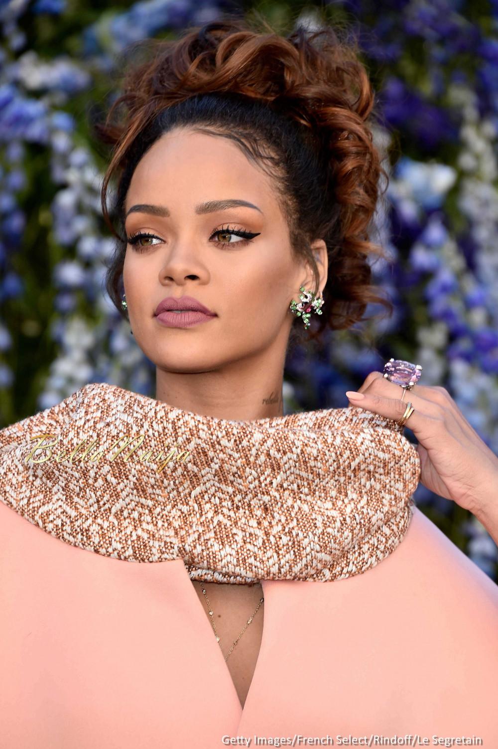 Rihanna Makes a Stunning Appearance at Dior Show at Paris ... Rihanna