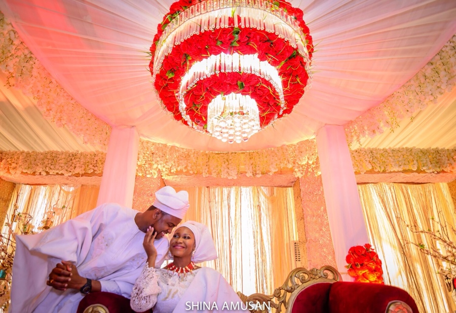 Rotimi Alakija DJ Xclusive Traditional Wedding to Tinuke - BellaNaija Weddings -image5