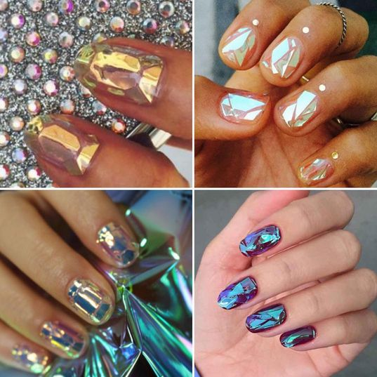 Shattered-Glass Nails - BellaNaija - October 2015001