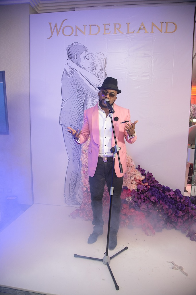 Special surprise performance by Banky W