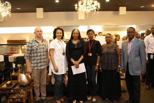 Stafano Moretti, Nike Ogunlesi, Muni Shonibare, Dami Akinniyi, Ms Shobo & Arc. Babalakin