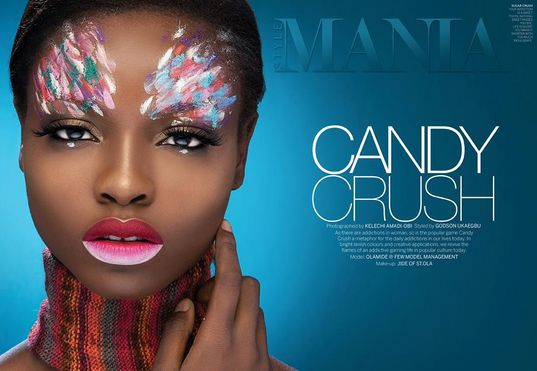 Style Mania Candy Crush Beauty Editorial - BellaNaija - October 2015