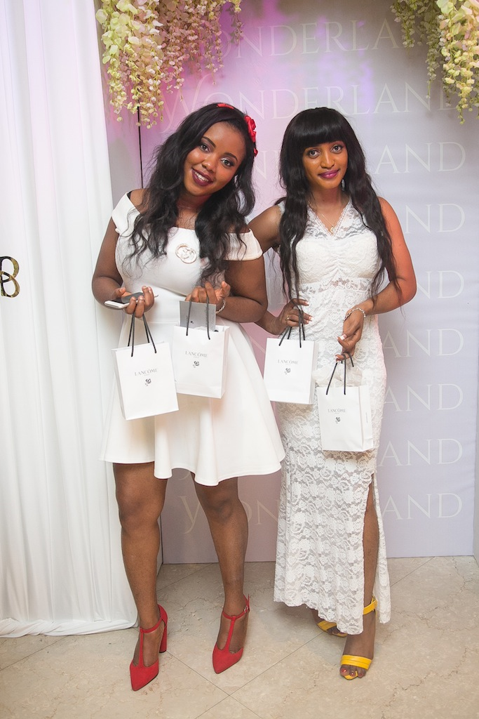 Thank You Lancome! #BBNWonderland brides with their special gifts from the international beauty brand