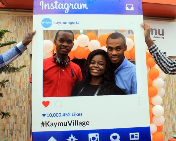 Tobi-Ayeni-and-Kelvin-with-Kaymu-rep-at-the-event