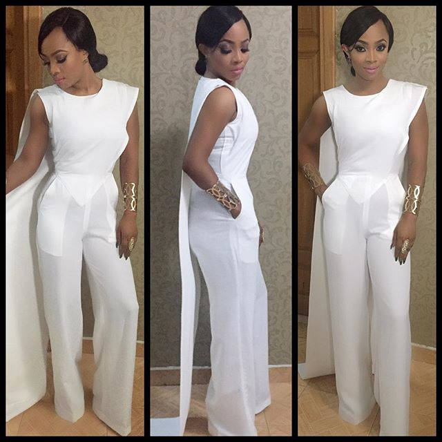 Toke Makinwa-October 2015