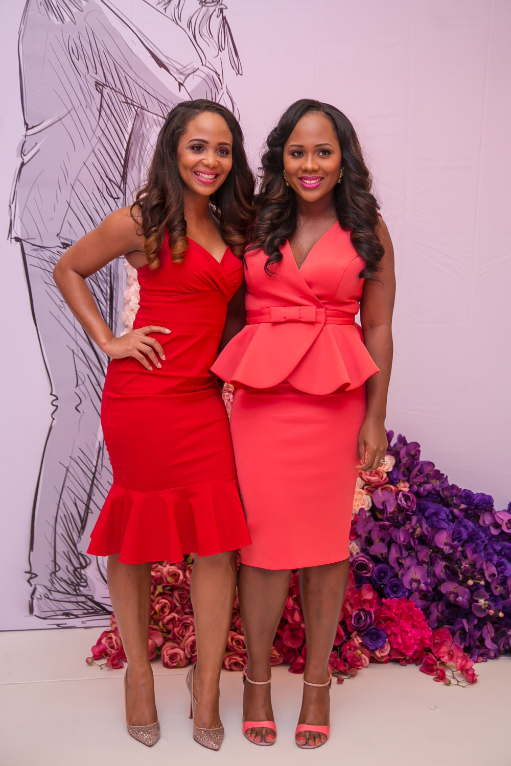 Uche Pedro - Founder, BellaNaija & Nkechi Eze, Editor BellaNaija Weddings