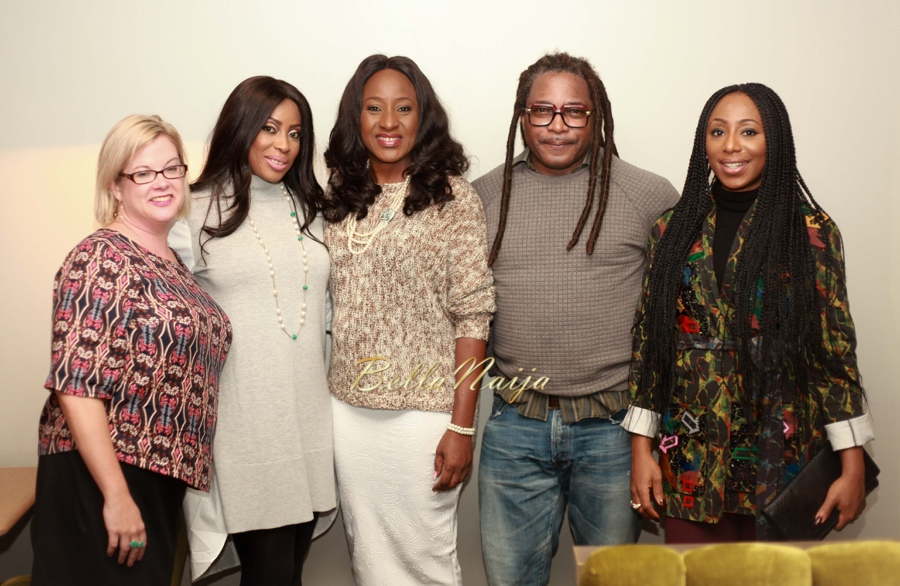 Wendy Mitchell (British Council), Mo Abudu (Producer, Fifty), Ireti Doyle, Biyi Bandele, Dakore Egbuson-Akande