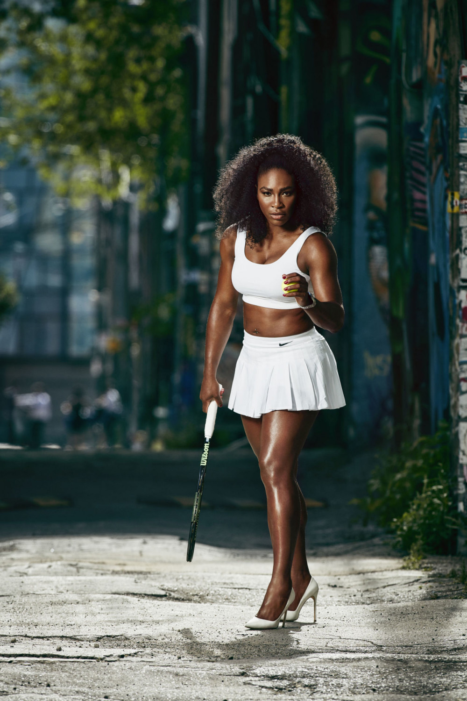 Women who Dare - Serena Williams Harpers Bazaar