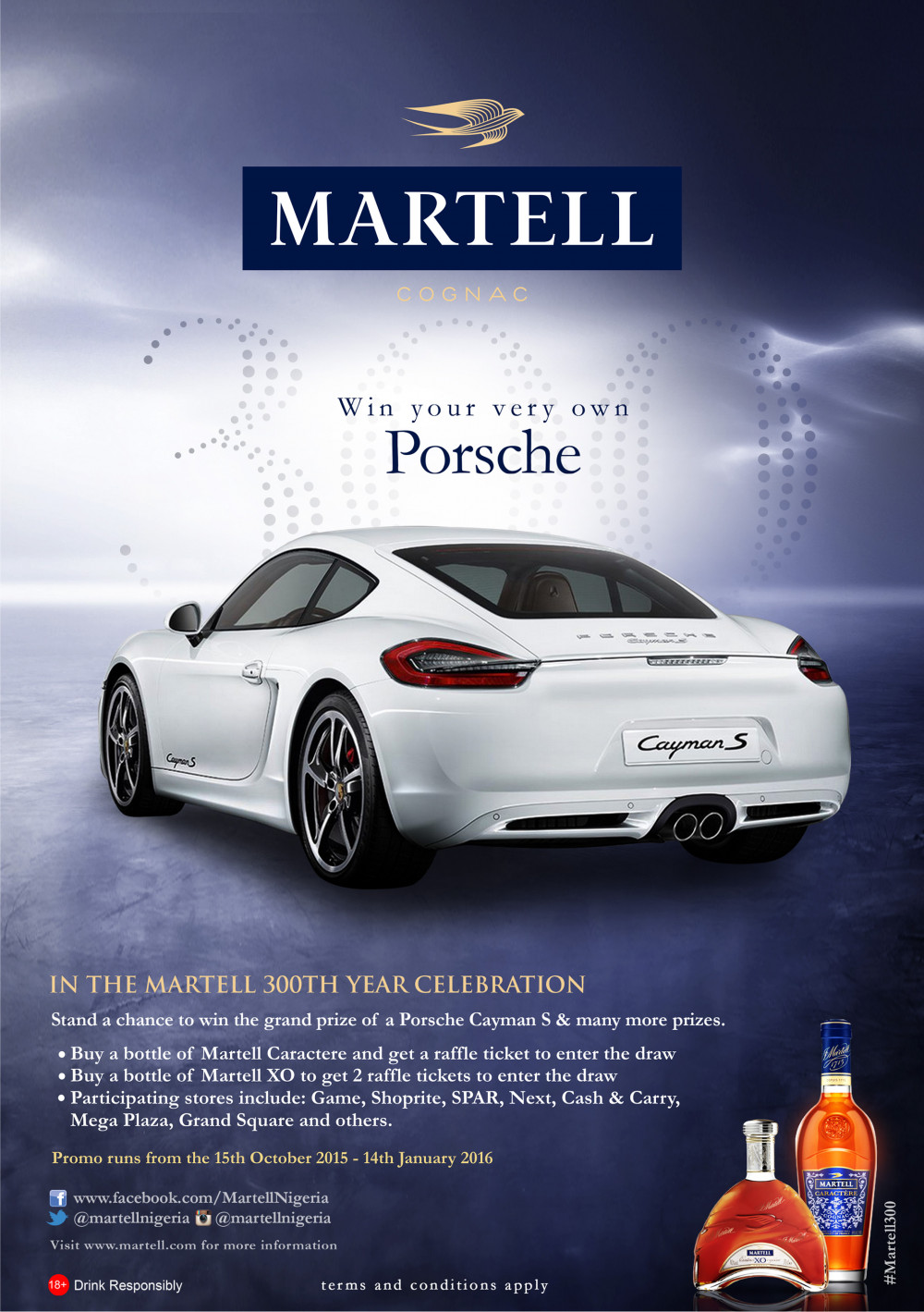 Win Your Very Own Porsche Yes A Enter The Martell Promo
