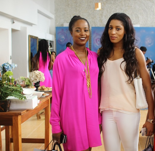 kachi Igbinedion and Nicole Chikwe