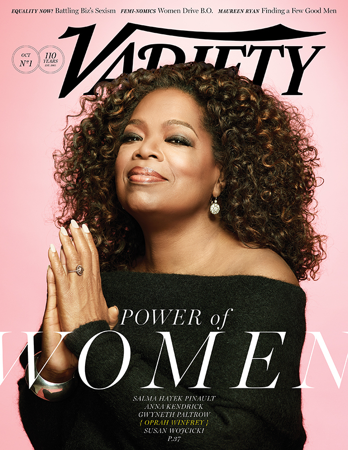 Oprah Winfrey Covers 'The Power of Women' Issue of Variety ...