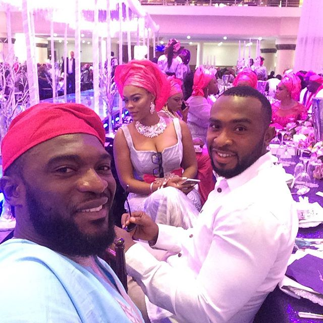 12 AsoEbiBella at Lilian Esoro & Ubi Franklin Wedding BellaNaija
