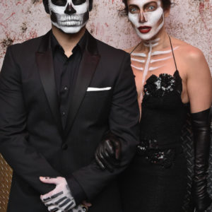 attends the Heidi Klum's 16th Annual Halloween Party sponsored by GSN's Hellevator And SVEDKA Vodka At LAVO New York on October 31, 2015 in New York City.
