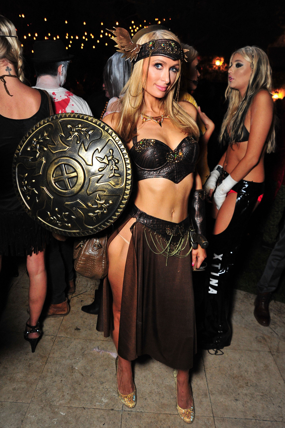 Women Wearing Revealing Warrior Outfits - Page 16 2015-Celebrity-Halloween-Costumes-BellaNaija-4