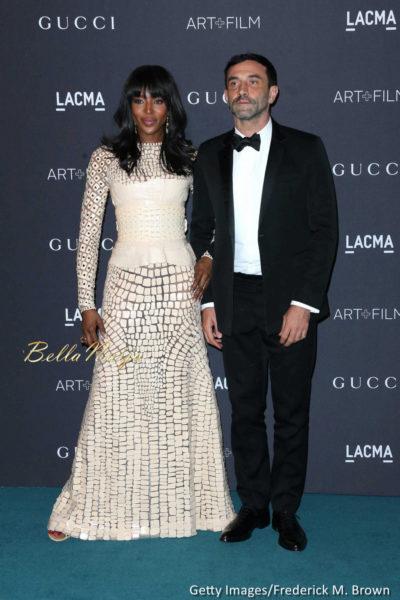 Naomi Campbell & Riccardo Tisci