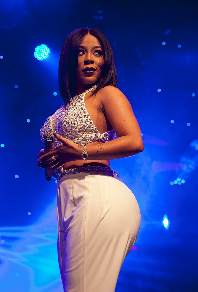 K.Michelle at The Fillmore Charlotte on February 26, 2015 in Charlotte, North Carolina.