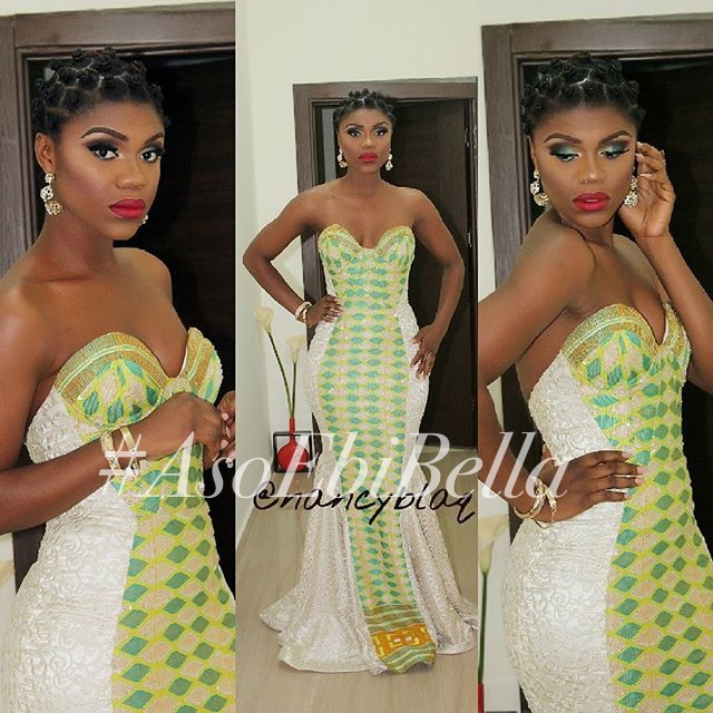 @beccafrica, dress by @pitisgh, makeup by @nancyblaq